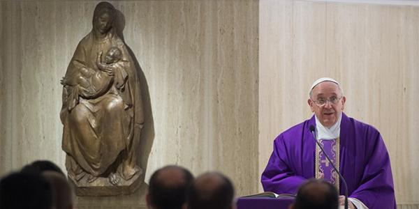 """Francisco adverte cristãos sobre """"santidade aparente"""": fiéis devem fazer o bem / Foto: L'Osservatore Romano"""