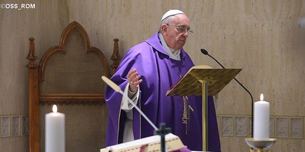 Na Missa de hoje, Papa pede que fiéis sejam misericordiosos e não fechem as portas da Igreja / Foto: L'Osservatore Romano