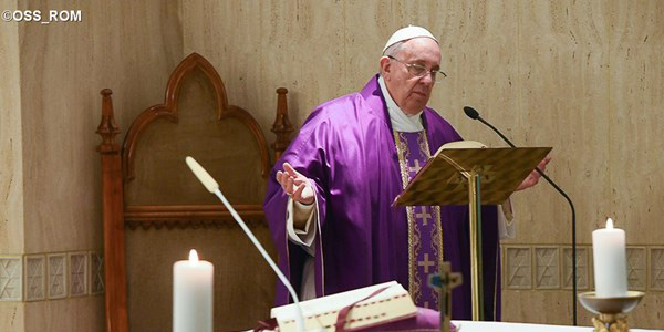 Em homilia, Francisco fala sobre necessidade de misericórdia / Foto: L'Osservatore Romano