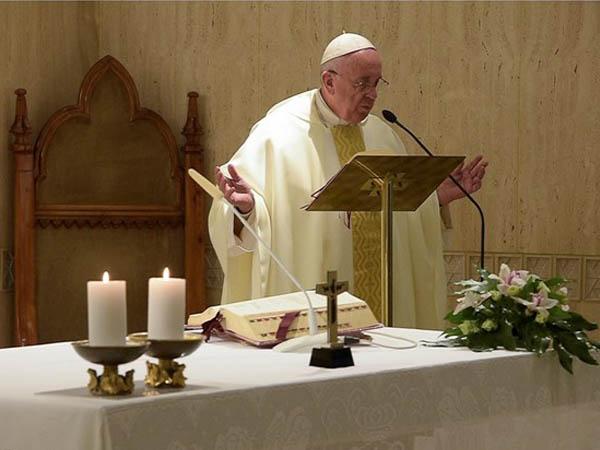 Francisco adverte fiéis sobre o risco de transformar a fé em poder / Foto: L'Osservatore Romano