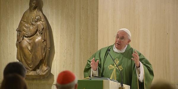 Francisco explica que o apego às riquezas é o início de todos os tipos de corrupção / Foto: Arquivo - L'Osservatore Romano