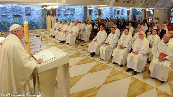 Francisco fala do martírio sofrido por tantos cristãos, que testemunham Cristo até o fim / Foto: L'Osservatore Romano