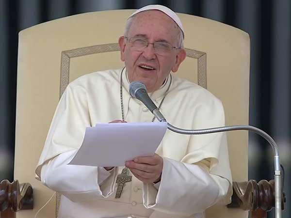 Santo Padre lembra aos fiéis a riqueza do matrimônio para a Igreja / Foto: Reprodução CTV
