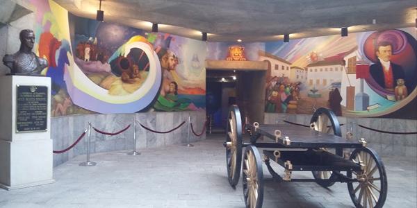 Museu no Templo de la Patria