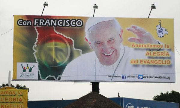 Visita de Francisco à Bolívia será sinal de reconciliação/ Foto: Daniel Machado - cancaonova.com