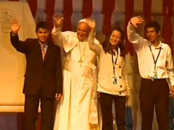 Papa Francisco e os jovens
