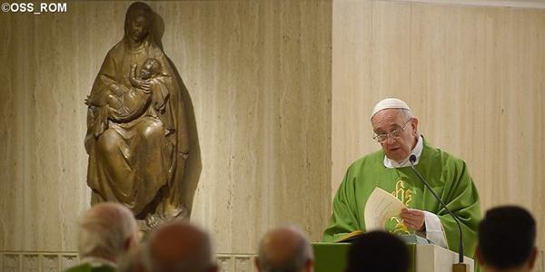 Papa Francisco destaca necessidade de discernimento e vigilância para não cair nas armadilhas do diabo / Foto: Arquivo - L'Osservatore Romano