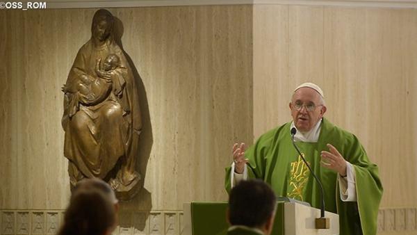 Papa Francisco pede aos fiéis sabedoria e discernimento para que entendam os sinais dos tempos / Foto: L'Osservatore Romano
