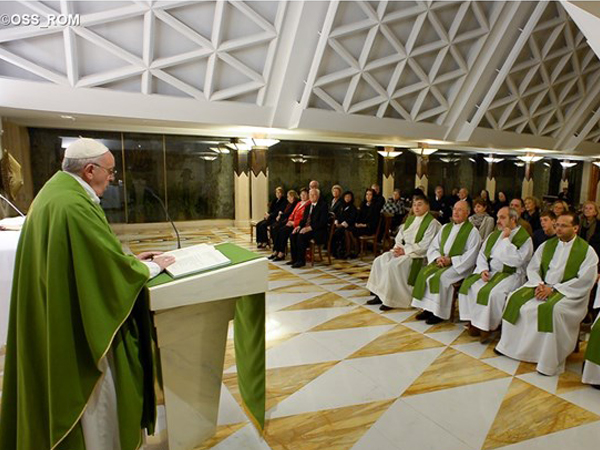 Na Missa de hoje, Papa fala do amor de Deus / Foto: L'Osservatore Romano