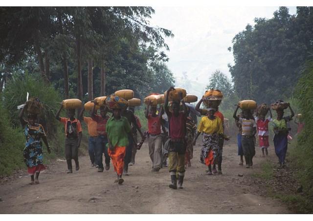 Refugiados na república Democrática do Congo / Foto: Rádio Vaticano