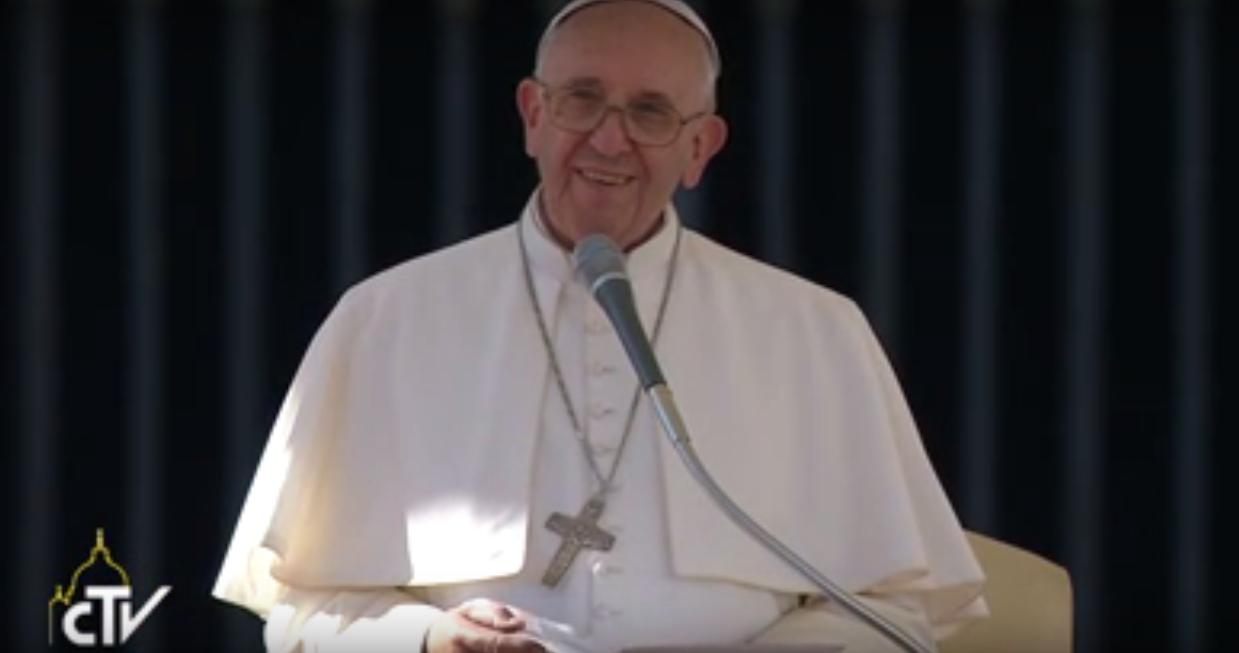 Papa recebeu pela primeira vez os membros do Instituto Nacional da Previdência Social (INPS) da Itália / Foto: reprodução CTV