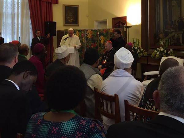 Papa Francisco reunido com líderes religiosos no Quênia / Foto: L'Osservatore Romano