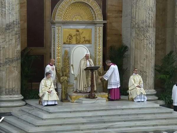 Na Basílica de São Paulo Fora dos Muros, a homilia do Papa no encerramento da Semana de Oração pela Unidade dos Cristãos / Foto: Reprodução CTV