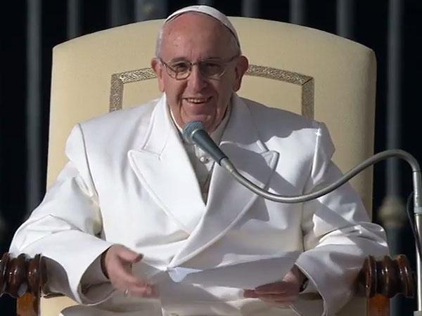 Papa fala da misericórdia divina ao longo da história da humanidade / Foto: Reprodução CTV