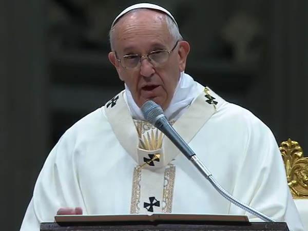 Francisco preside celebração eucarística no Dia da Vida Consagrada / Foto: Reprodução CTV
