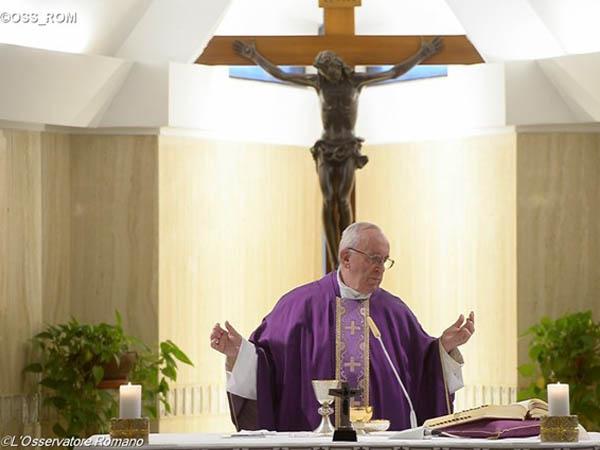 É preciso pedir perdão e saber perdoar o próximo, explica o Papa / Foto: L'Osservatore Romano