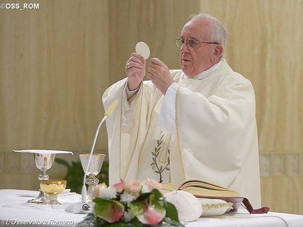 Papa Francisco celebra Missas na Casa Santa Marta desde o início de seu pontificado / Foto: L'Osservatore Romano