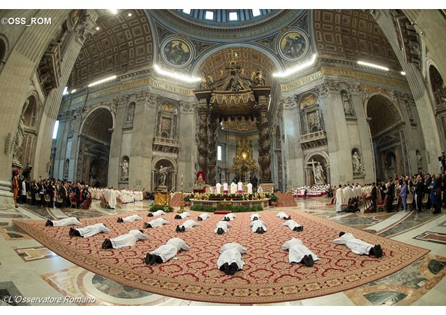 ordenacao sacerdotal papa
