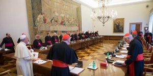 Papa preside reunião com chefes dos Organismos da Cúria Romana / Foto: L'Osserrvatore Romano