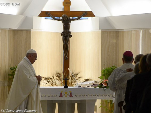 Papa pede docilidade ao Espírito SAnto / Foto: L'Osservatore Romano