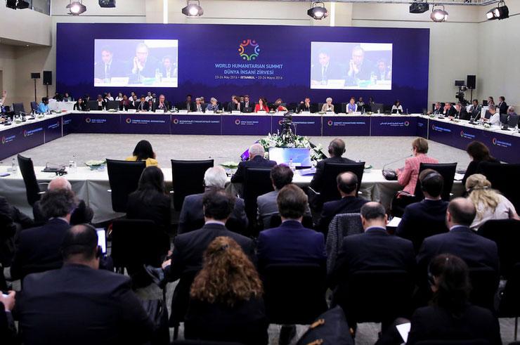 Conferência Humanitária Mundial termina nesta terça-feira, 24, em Istambul / Foto: worldhumanitariansummit.org
