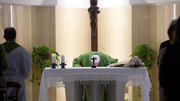 Papa Francisco frisou importância da oração do Pai Nosso./ Foto: L'Osservatore Romano