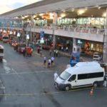 Vista parcial do aeroporto de Istambul após atentado / Foto: Reprodução Reuters
