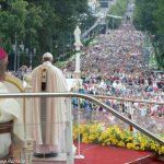 Multidão participou de Missa com o Papa na Polônia / Foto: L'Osservatore Romano
