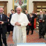 Papa com as delegações Metodista e Valdese no Vaticano / Foto: L'Osservatore Romano