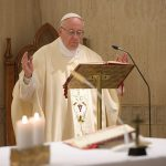 Papa celebra missa na Casa Santa Marta / Foto: L'Osservatore Romano