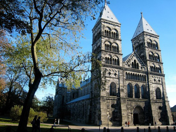 Catedral Luterana de Lund, onde Papa participará de oração ecumênica / Foto: Rádio Vaticano