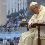 Papa reza em vigília mariana no Vaticano / Foto: Reprodução CTV