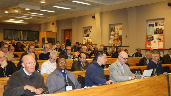 Palotinos reunidos na 21ª Assembleia Geral / Foto: página dos palotinos na internet