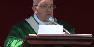 Papa preside Missa no Jubileu Mariano / Foto: Reprodução CTV