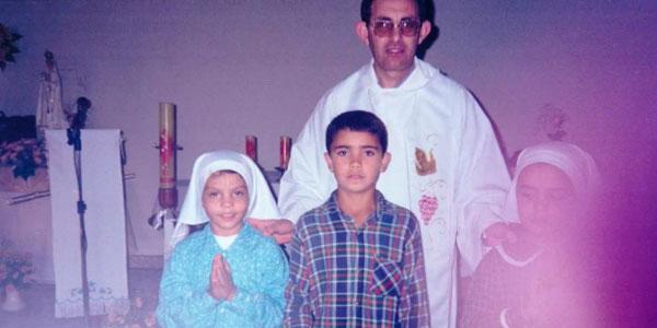 Jovem testemunha um gesto de carinho de Nossa Senhora de Fátima