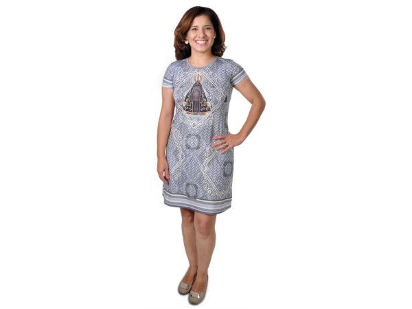 vestido de Nossa Senhora Aparecida