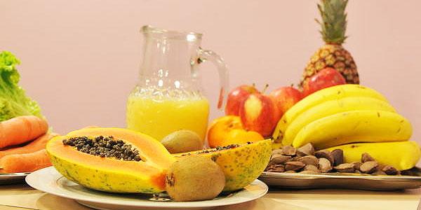 Frutas e sucos são muito bem vindos na JMJ
