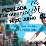 Evento pedalada #TamuJuntoJMJ