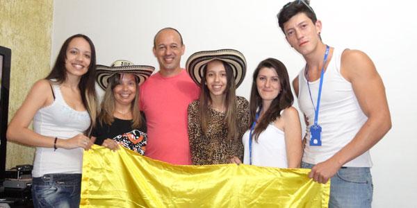Família de Aparecida acolhe peregrinos da Colômbia / Foto: Arquivo Pessoal
