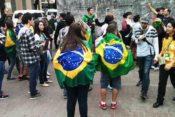 Jovens na Rua d Rio de Janeiro