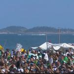 Peregrinação dos jovens até Copacabana
