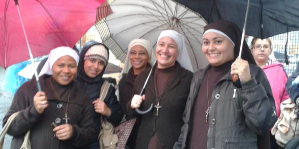 Irmãs estão ansiosas para acolher o Papa Francisco. Foto: Alessandra Borges / CN