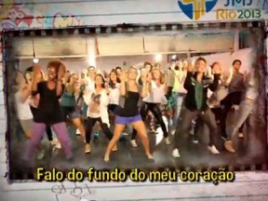JMJ Rio2013 desafia jovens a fazerem o maior flash mob do mundo