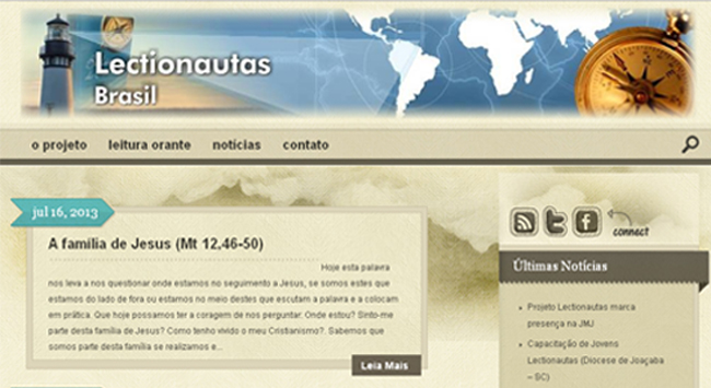 "Projeto ""Lectionautas"" marcará presença na JMJ"