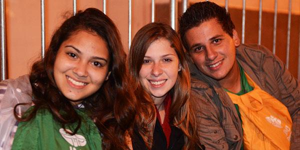 Geovana, Maira Julia e Rafael Carlos, de São José do Rio Preto (SP)