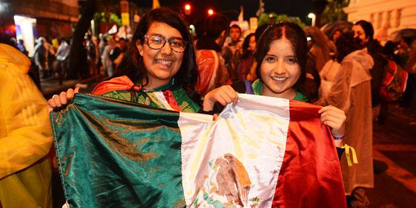 Fernanda Guerrero e Thalita Radás, jovens mexicanas