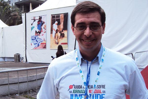 Rafael Tavares, relações públicas da AIS no Brasil