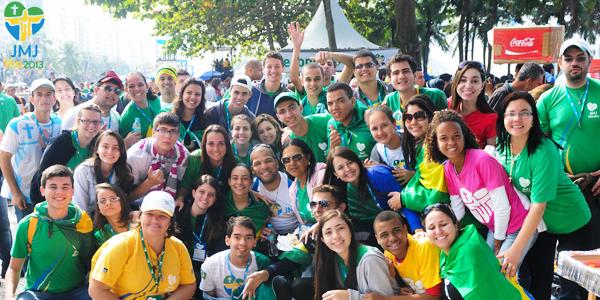 Jovens testemunham como  foi a JMJ Rio  2013 - Foto: Wesley Almeida/CN