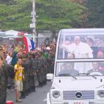 Minuto a minuto: Último dia da visita do Papa ao Brasil