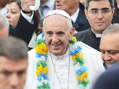 Papa doa 20 mil euros à Comunidade de Varginha